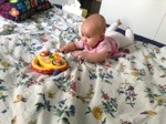 baby reaching