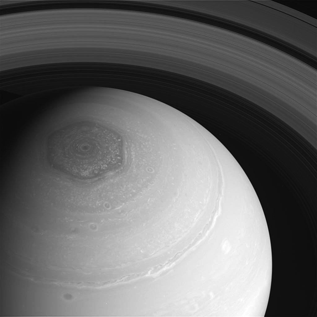 Saturn Hexagon-cassini