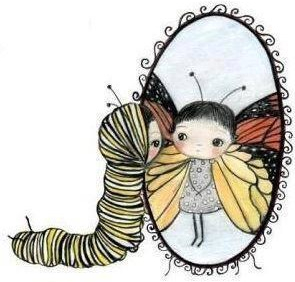 want to fly so bad you are willing to give up being a caterpillar-butterfly-hope-faith-Love