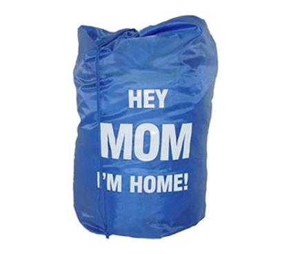 hey mom Im home-laundry bag