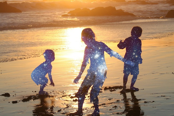 Children Stars in Sunshine _be humble be noble