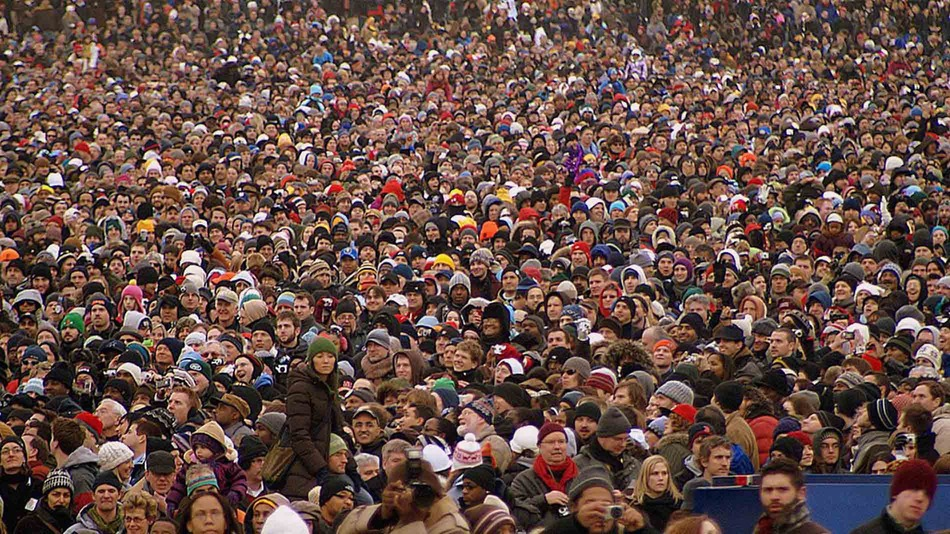 crowd-obamas 2009 inaguration_Pablo Manriquez