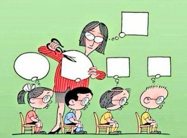 teachers making kids conform